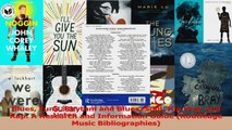 PDF Download  Blues Funk Rhythm and Blues Soul Hip Hop and Rap A Research and Information Guide Read Online