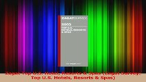 PDF Download  Zagat Top US Hotel Resorts  Spas Zagat Survey Top US Hotels Resorts  Spas Download Full Ebook