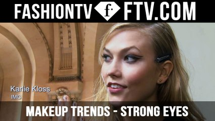 Makeup Trends F/W 2015/16 Strong Eyes | FTV.com