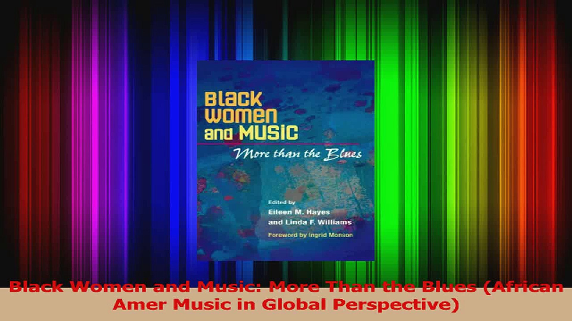 PDF Download  Black Women and Music More Than the Blues African Amer Music in Global Perspective Dow