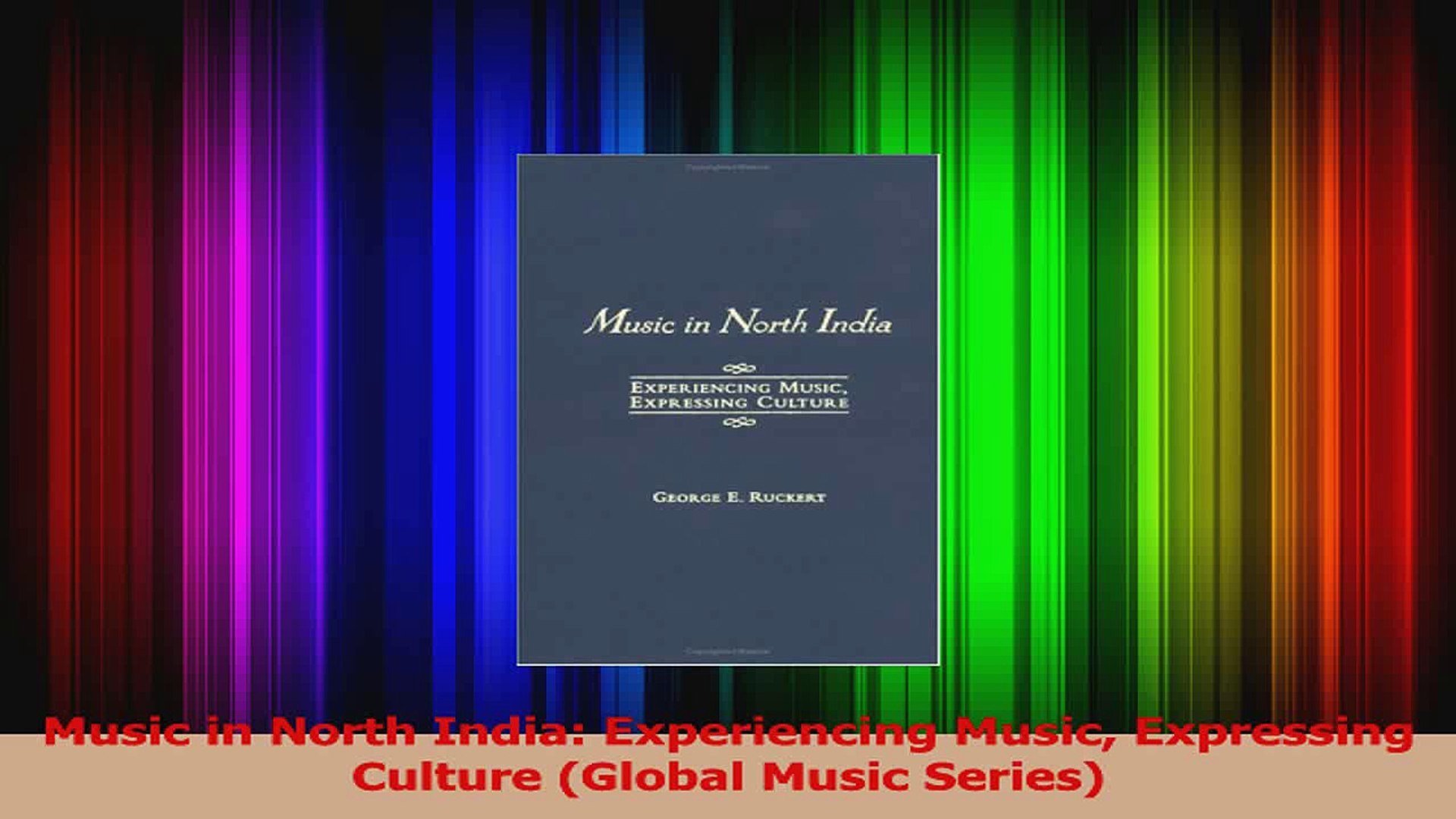 PDF Download  Music in North India Experiencing Music Expressing Culture Global Music Series Read Fu