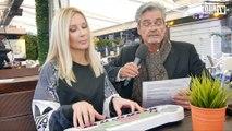 Bonny (COUCHYOURLIFE) spielt mit Lifestyle Trainer Karlheinz Mindt