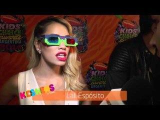 Kids News junto a  Lali Espósito en los #KCAArgentina