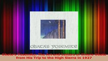 PDF Download  Obatas Yosemite The Art and Letters of Chiura Obata from His Trip to the High Sierra in PDF Online