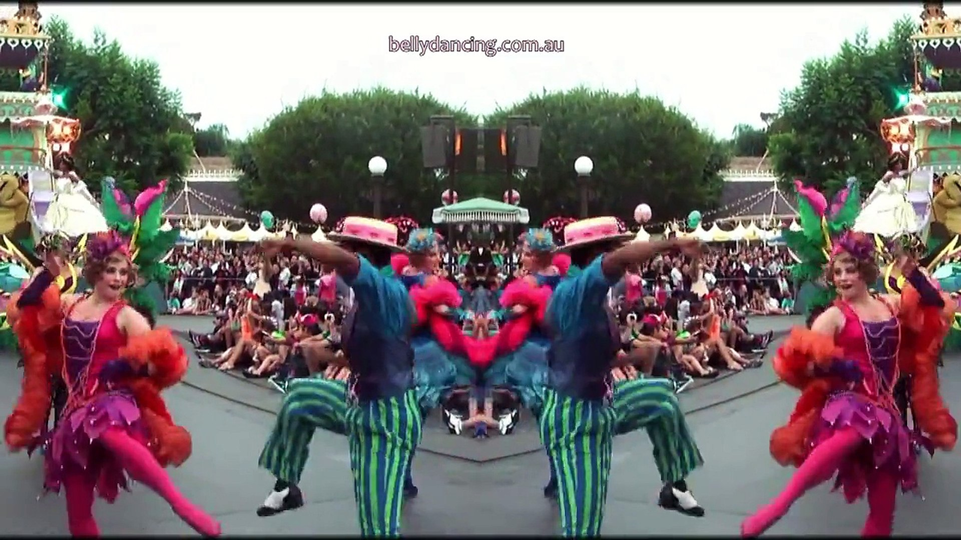 How to Belly Dance Teacher at Disneyland Princess