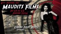 Bande annonce du Festival des Maudits Films 2016 - Réalisation: Louna & Yann Flandrin, Yohann Hideux.