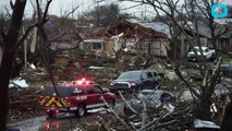 Major Storms Rock the South With Twisters, Floods, Now Snow and Ice