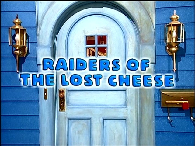 Bear in the Big Blue House: Raiders of the Lost Cheese