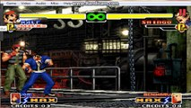 the king of fighters super kof combos ralf 4