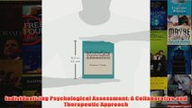 Individualizing Psychological Assessment A Collaborative and Therapeutic Approach