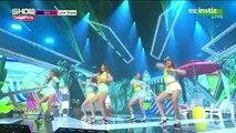 150708 MINX (밍스) - Love Shake @ Show Champion