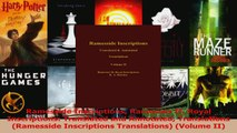 Read  Ramesside Inscriptions Ramesses II Royal Inscriptions Translated and Annotated Ebook Free