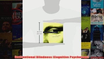 Inattentional Blindness Cognitive Psychology
