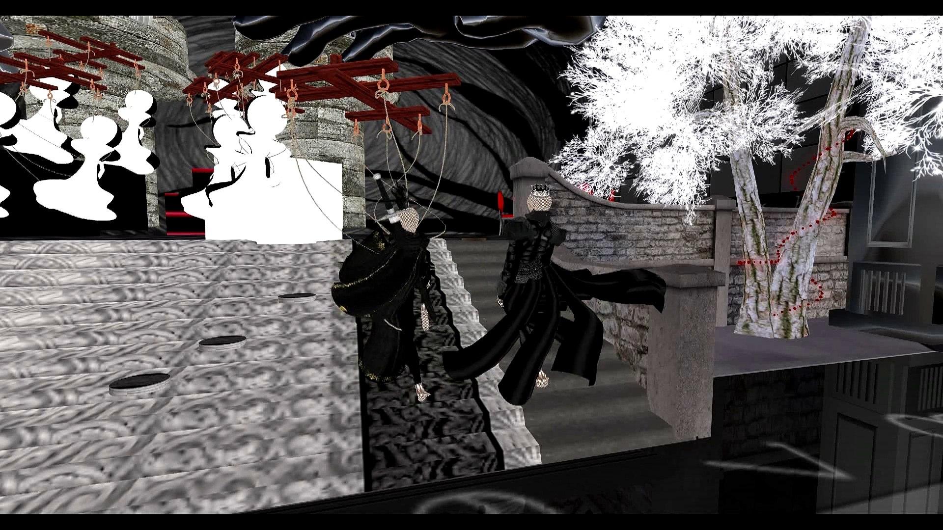 Second Life - Шахматный Бал
