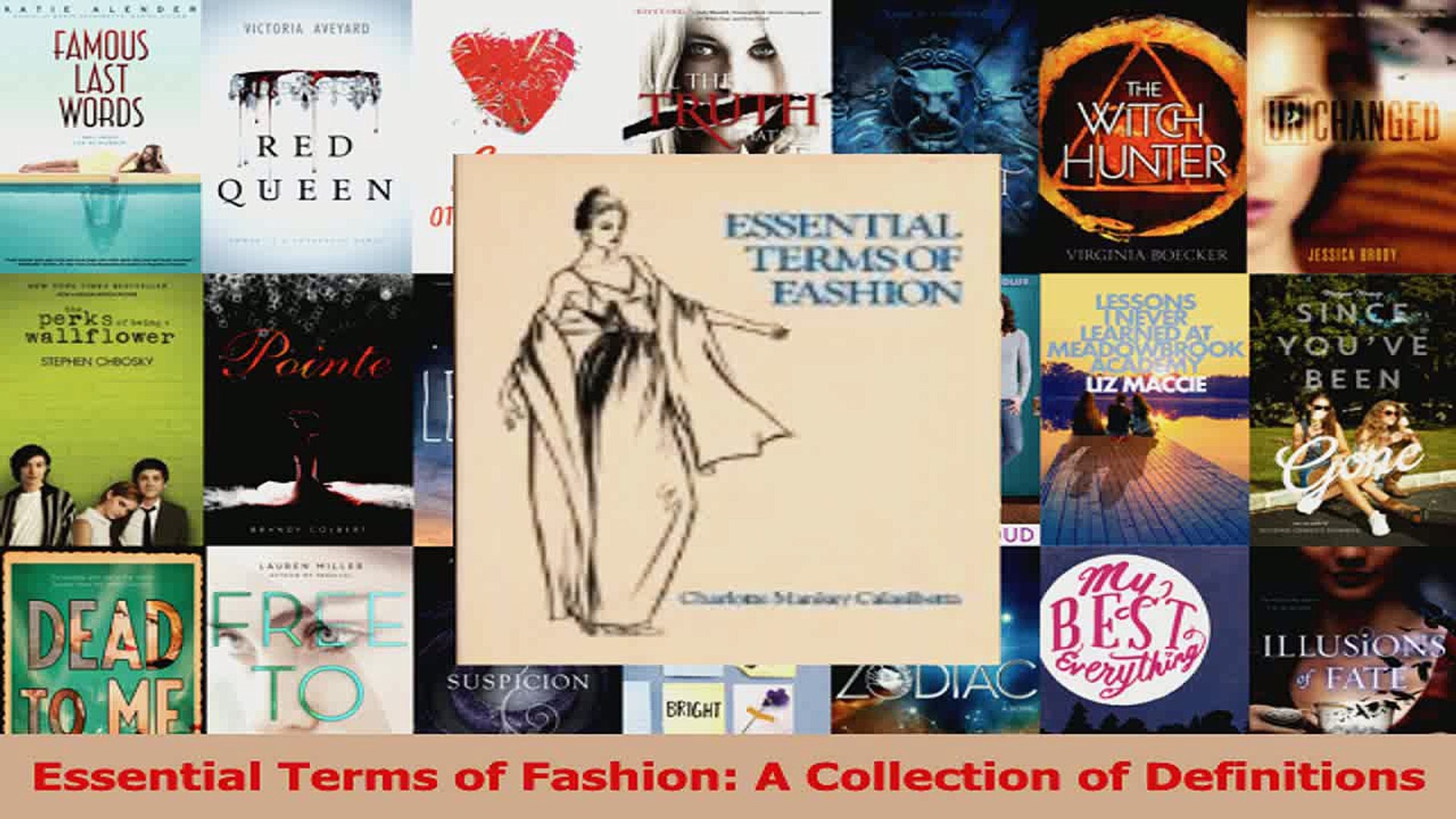 Pdf Download Essential Terms Of Fashion A Collection Of Definitions Read Full Ebook Video Dailymotion