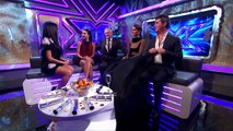 Sarah Jane catches up with the Judges | The Xtra Factor UK | The Xtra Factor UK 2014