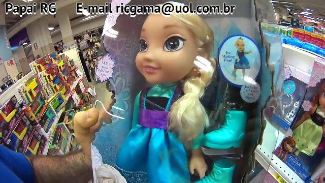 toys Frozen Uma Aventura Congelante Filme Boneca Disney Elsa Patins Ice Skating Brinquedos Toys
