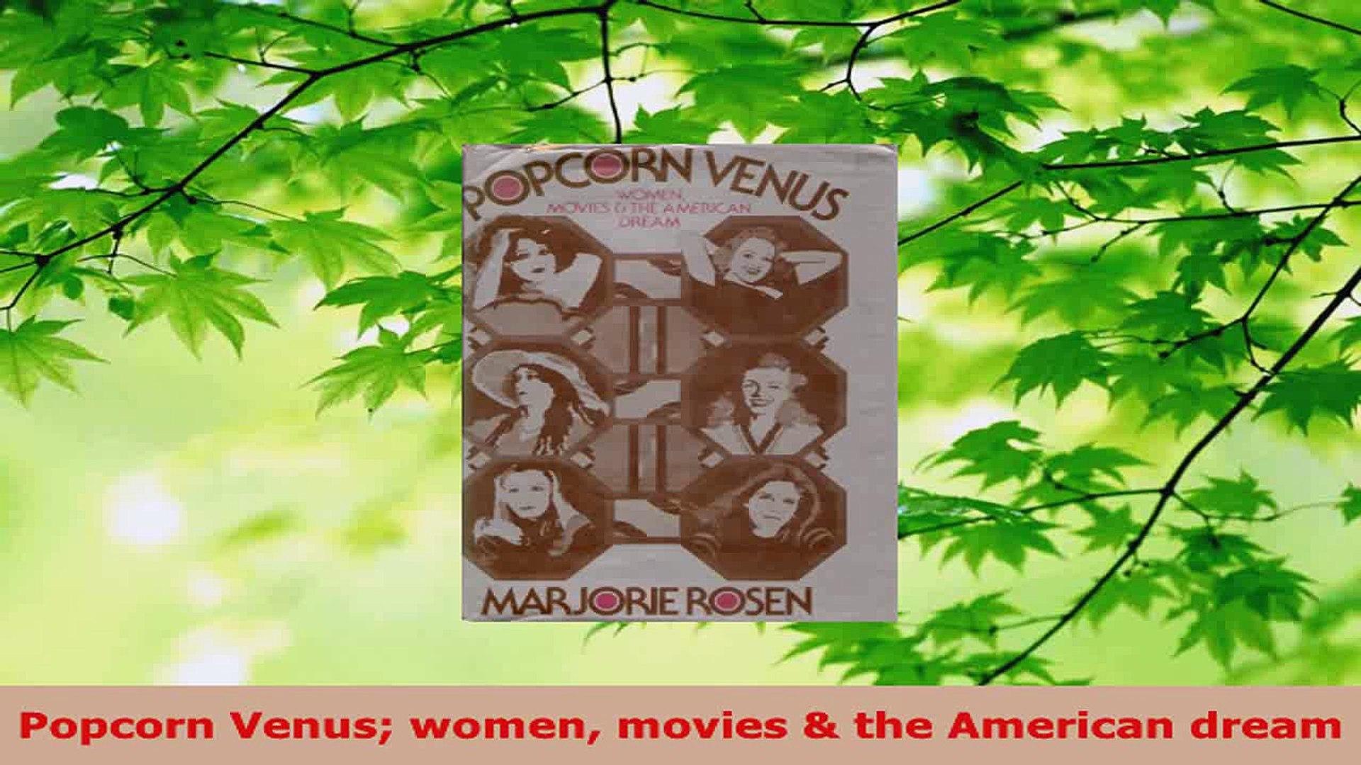 PDF Download  Popcorn Venus women movies  the American dream Download Online