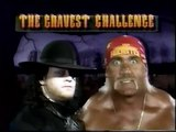 WWF Survivor Series 91 Hulk Hogan Undertaker Promo