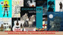 PDF Download  Donkeys Miniature Standard and Mammoth A Veterinary Guide for Owners and Breeders Download Online