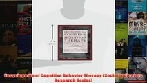 Encyclopedia of Cognitive Behavior Therapy Social Indicators Research Series