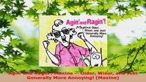 Read  Agin and Ragin Maxine  Older Wiser and Just Generally More Annoying Maxine Ebook Free