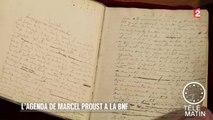 Carré VIP - Un manuscrit de Marcel Proust à la B.N.F. - 2015/12/29