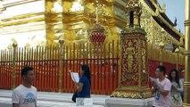 WAT PRA DOI SUTHEP SITE SACRE A CHIANG MAI (THAÏLANDE)  LE 28 NOVEMBRE 2015