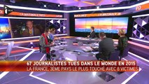 """Christophe Deloire : """"il y a une forme de mondialisation de la menace"""" envers les journalistes"""