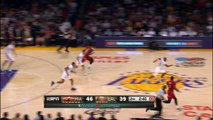 Dwyane Wade Goes Off the Glass to LeBron James for the EPIC Slam
