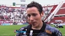 Bogado: Nos sacamos una mochila. Huracán 1 - Belgrano 1. Fecha 30. Primera División 2015