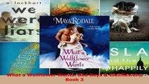 Read  What a Wallflower Wants Bad Boys  Wallflowers Book 3 Ebook Free