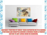 ABSTRACT CANVAS WALL ART PRINTS FOREST TREES PHOTO PRINTING ROOM DECORATION PICTURES PHOTO