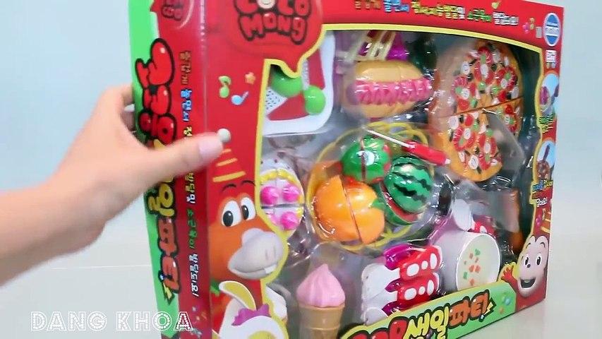 Đồ chơi nấu ăn cho bé chơi trò chơi cắt trái cây làm kem, bánh Pizza rất hay   Godialy.com
