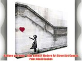 Balloon girl hope - NEW BANKSY Modern Art Street Art Canvas Print 40x30 inches