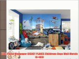 Kids Photo Wallpaper DISNEY PLANES Childrens Boys Wall Murals (8-469)