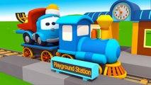 Leo Junior geht auf Reisen - Wir bauen einen Schlitten - 3D Cartoon für Kinder