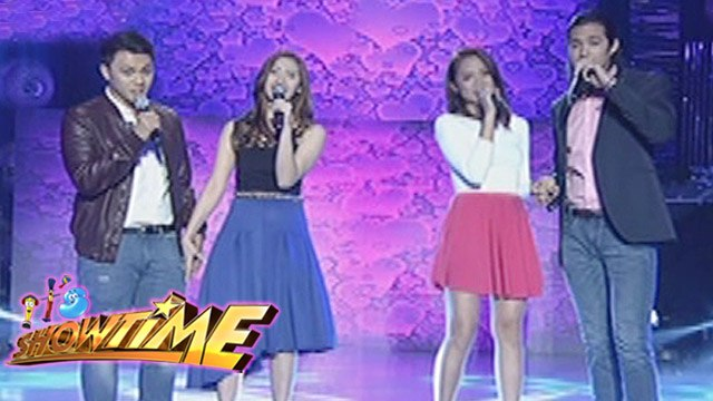 It's Showtime: ToMiho, Mr. & Ms. Pastillas spread love on It's Showtime