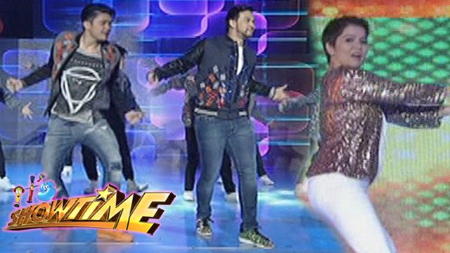 It's Showtime: Amy goes twerking; Vhong & Billy join Hashtag boys