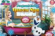 Hamil Frozen Elsa queen - Hamil Elsa queen Spa permainan untuk anak perempuan