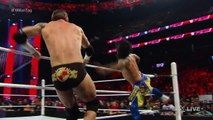 Dean Ambrose & The Usos vs. Sheamus, Rusev & King Barrett- Raw, December 28, 2015