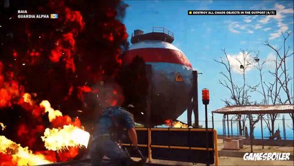 Just Cause 3 Walkthrough Part 2 ''Time For An Upgrade'' Story Gameplay (PS4)