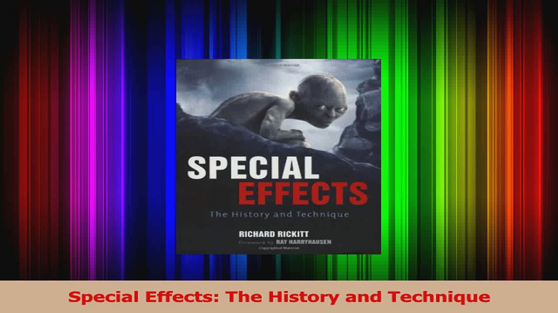 PDF Download Special Effects The History and Technique Download Online