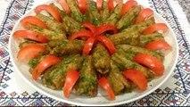 طبق عصري و لذيذ بالقنارية والكفتة بصلصة مميزة من المطبخ المغربي مع ربيعة Cardons aux Viande Hachee