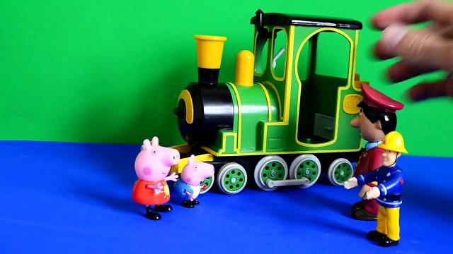 peppa pig episodes Fireman Sam Peppa pig Episode Greendale Train Postman Pat Play-doh Gorge Pig