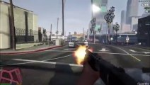 GTAV Gameplay - First Person