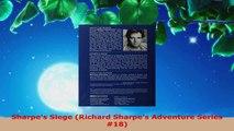 Download  Sharpes Siege Richard Sharpes Adventure Series 18 PDF Online