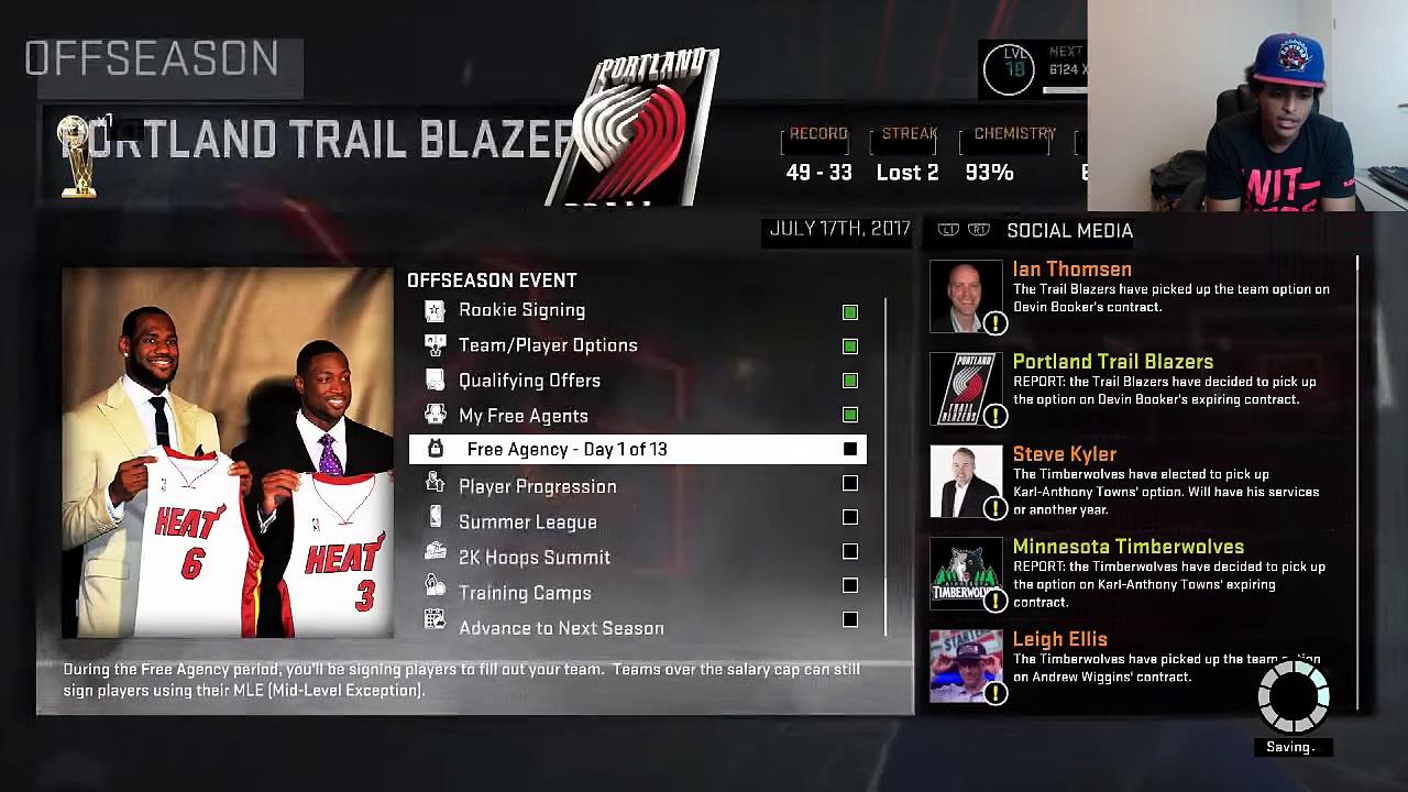 ★ NBA 2K16 Trailblazers MyGM – Free Agency [Episode 37]