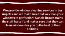 Los Angeles Window Cleaning Services for Spotless Windows