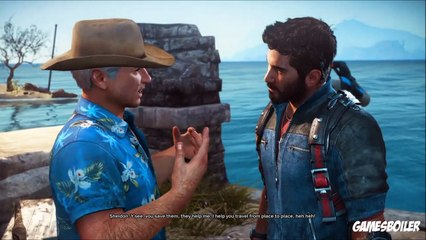 Just Cause 3 Walkthrough Part 5 ''Friends Like These'' Story Gameplay (PS4)